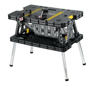 Keter Folding Workbench with Clamps
