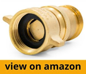 Camco Brass Water Pressure Regulator