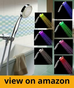 LED Shower Head with Shower Hose