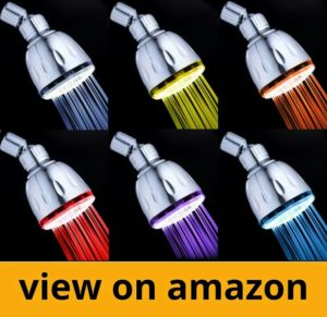 MagicShowerhead SH1026 Rainbow Color LED Showerhead