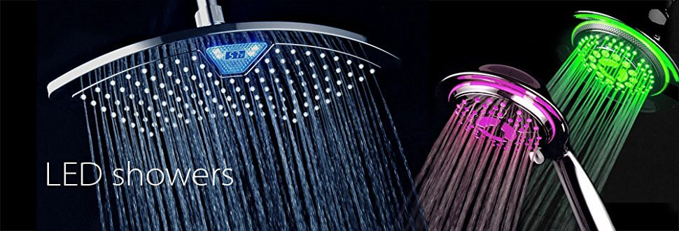 best shower with light