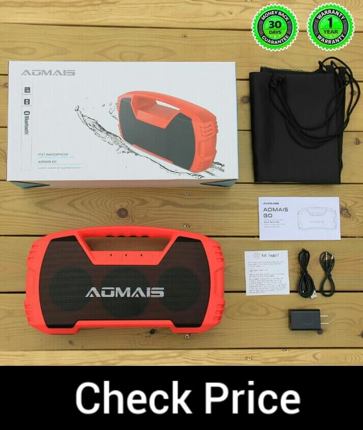 AOMAIS GO Waterproof Bluetooth Speaker