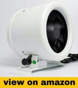 Digital EC Mixed Flow Inline Duct Fan