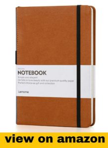 Leather Notebook with Pen Loop