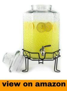 Redfern Elegant 2.5 Gallon Glass Beverage Dispenser