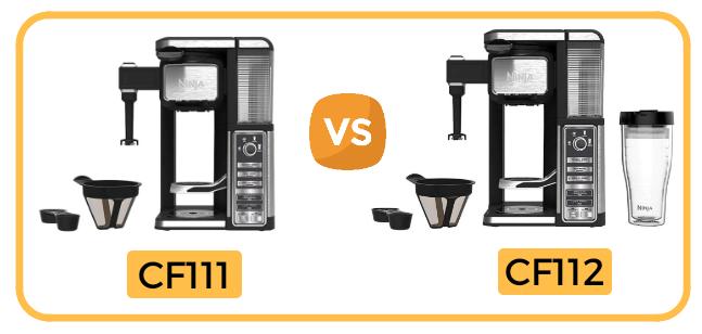 Ninja Coffee Bar CF111 vs CF112 Compare
