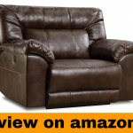 Simmons Upholstery 50571PBR-195 Abilene Power Cuddler Recliner Tobacco