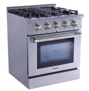 Thor Kitchen HRG3080U 30″ Free-standing Gas Range