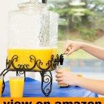 5 Gallon Glass Beverage Dispenser