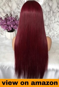 full lace human hair wigs under 100 dollars