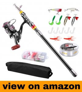 FishOaky Fishing Rod kit
