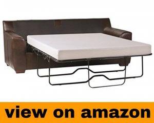 Zinus Memory Foam 5 Inch Sleeper Sofa Mattress, Replacement Sofa Bed Mattress