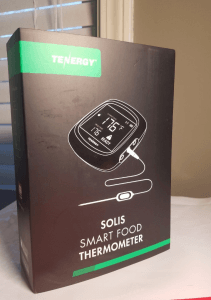 tenergy solis smart food thermometer