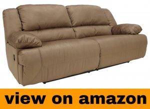 Ashley Furniture Signature Design – Hogan Reclining Sofa