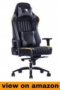 KILLABEE Big and Tall Memory Foam Gaming recliner