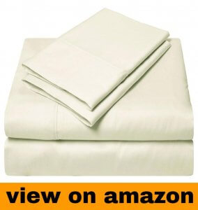 SGI Bedding – King Size Egyptian Cotton Sheets Luxury Soft 1000 Thread Count