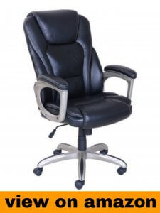 Serta Big and Tall Memory Foam Office Recliner