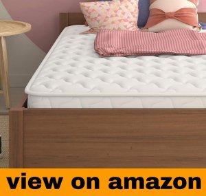 Signature Sleep 6″ Hybrid Coil Mattress, Twin, White