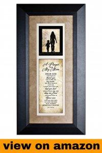 Dexsa A Prayer for My Mom Wood Wall Art Frame Plaque