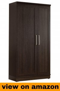 Sauder HomePlus Storage Cabinet, Dakota Oak finish