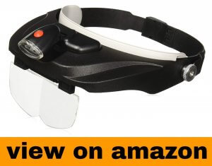 Carson Optical Pro Series MagniVisor Deluxe Head-Worn