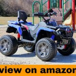 First Drive 12V Kids Electric ATV Quad 4 Wheel Drive Offroad Ride On Toy Car