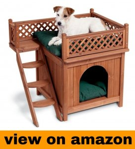 Merry Pet Wood Pet House