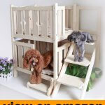Petsfit Wooden Pet Bed, Dog Bed