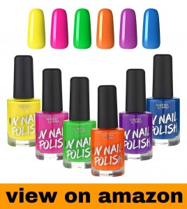 Splashes & Spills – UV Glow Blacklight Nail Polish